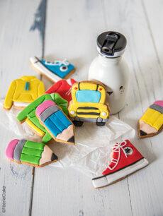 Les biscuits décorés « Back to school »