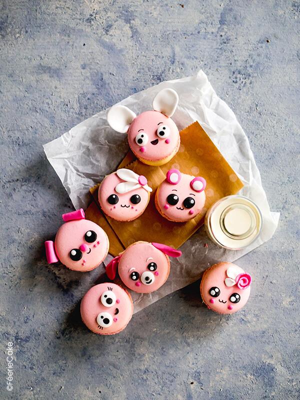 Macarons trop kawaï