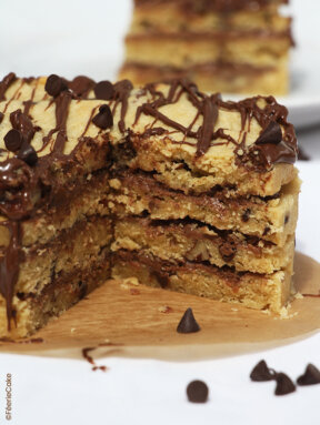 Layer cake aux cookies